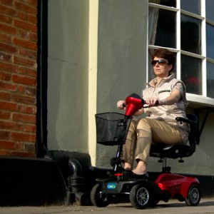 CareCo Eclipse Travel Mobility Scooter