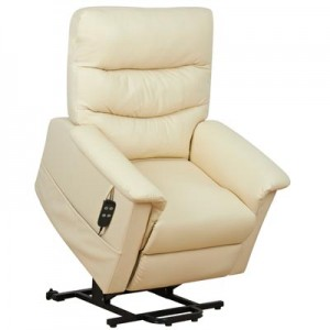 Kenmure Leather Heat & Massage Riser Recliner