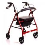 CareCo Glider Rollator Walking Aids with Seats