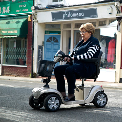 Overload Mobility Scooter