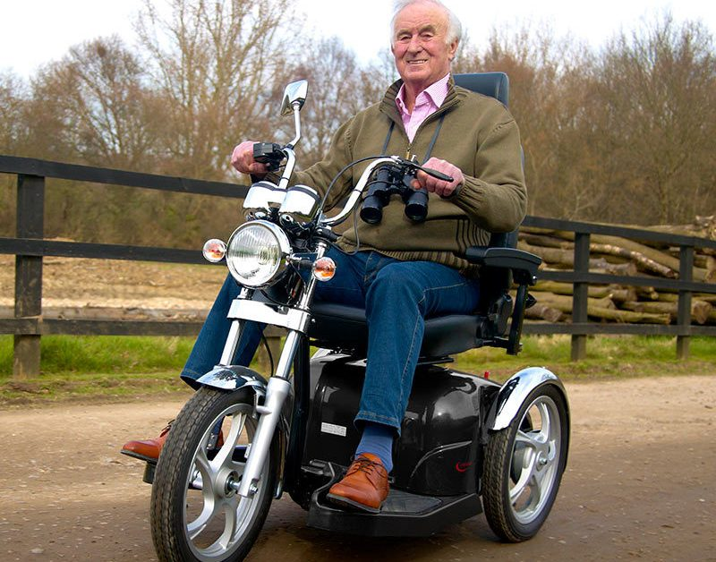 man on the Drive Sport Rider