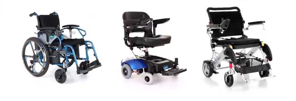 3 powerchairs