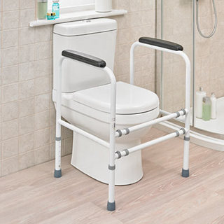 universal toilet frame