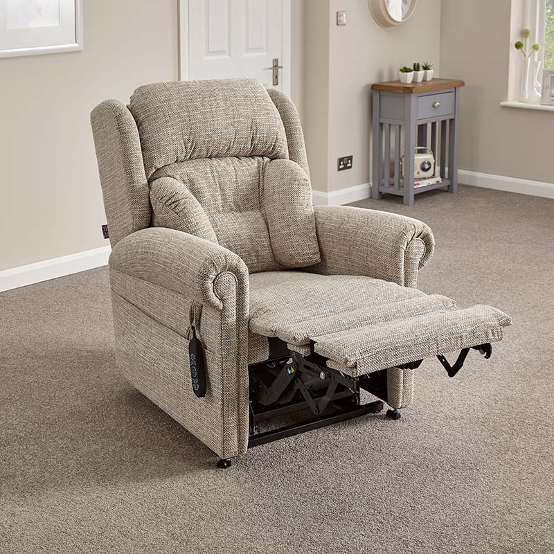 Dorchester Lateral Mocha riser recliner