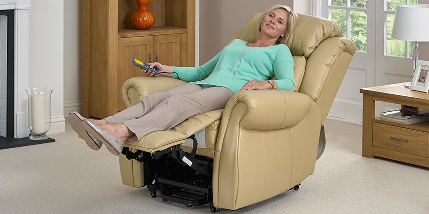 Leather Riser Recliners Chairs