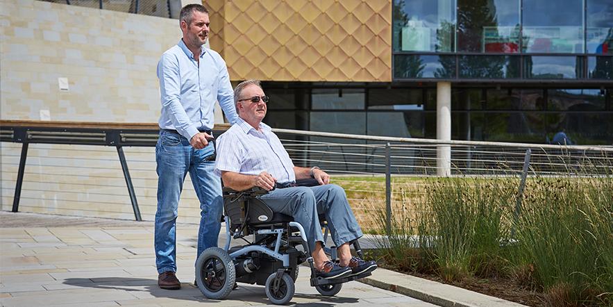 Abilize Pursuit Electric Wheelchair