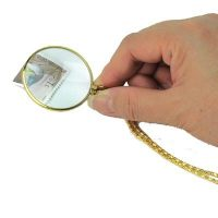 hand holding a Pendant Magnifier