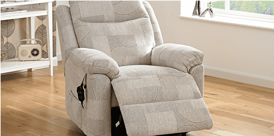 fabric riser recliner chair