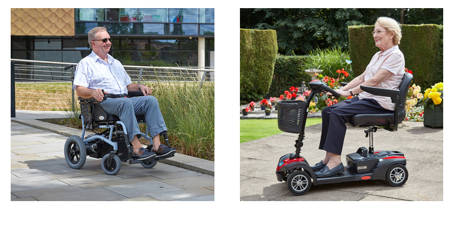 powerchair and mobility scooter