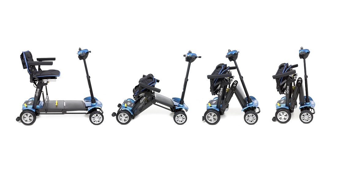 eDrive folding scooter