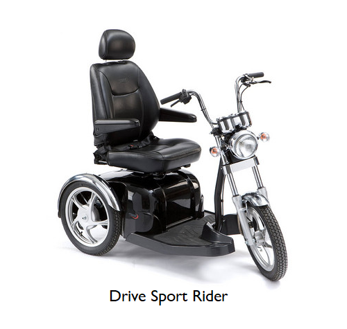 road 3 wheel scooters - Roma and Drive Sport Rider