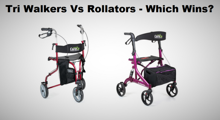 Are Tri Walkers or Rollators Best