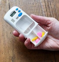 Med-Alert Pill Box with Timer