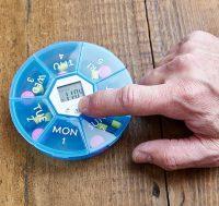 Med-Alert Pill Organiser with Alarm