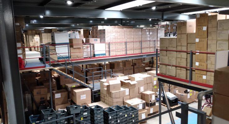 CareCo Warehouse Oct 2019