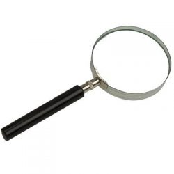 Classic Magnifying Glass with black handle