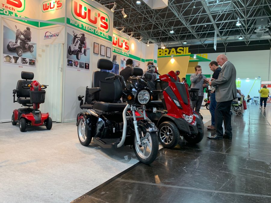 Mobility scooters are Rehacare