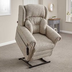 Oakdale lift armchair raised