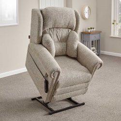 Oakdale lift armchair raised