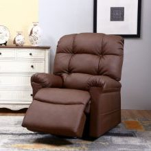 WiseLift EnduraLux Leather Riser Recliner
