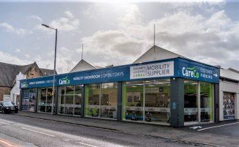 CareCo Glasgow shop front