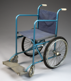 Model 8 folding wheelchair