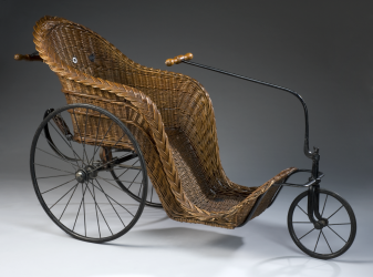 Wickerwork Bath Chair, Late Victorian design