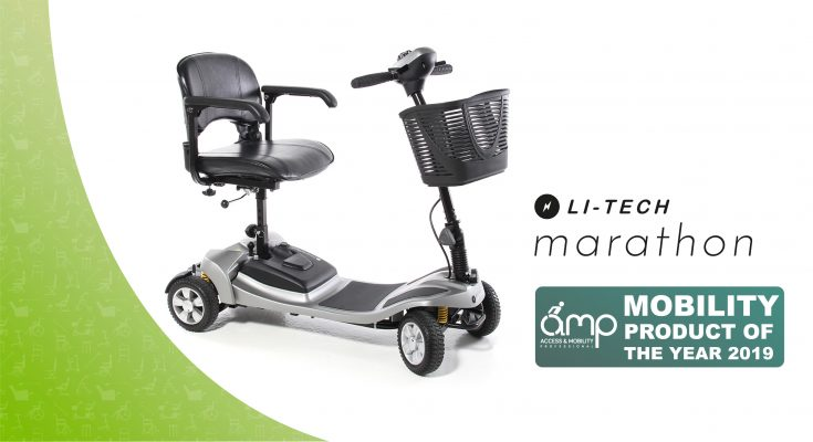 Mobility scooter product of the year