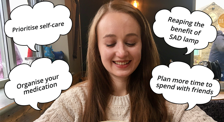 Pippa Stacey making resolutions