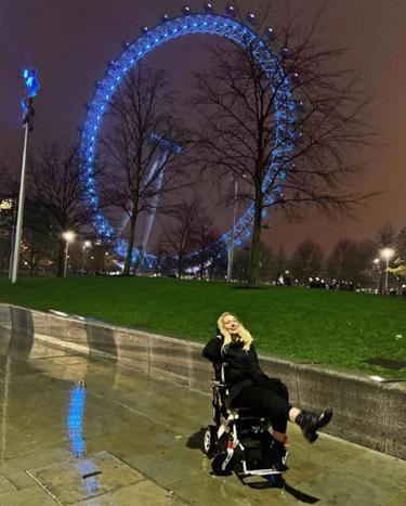Johanna Sangster goes to London