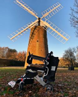 Johanna Sangster visits a windmill