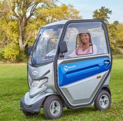 Abilize Kondor Cabin Scooter in the park