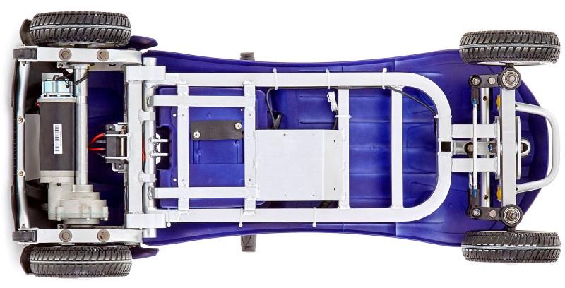 Neon aluminium frame