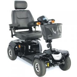 black mobility scooter - CareCo Daytona XLR