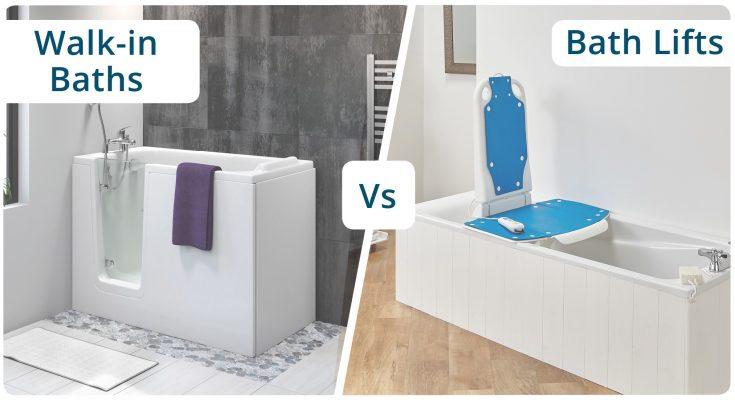 baths vs bath seats